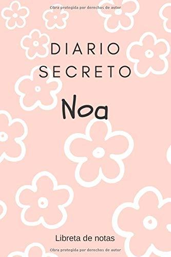 Diario Secreto de Noa - Libreta de Notas: Regalo para Niñas   Agenda Personal de 120 páginas   Cuaderno de Rayas Horizontales   Bloc de Ideas