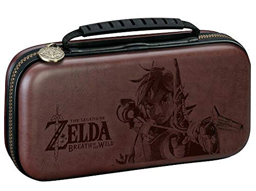 Nintendo Switch Lite Game Traveler Deluxe Travel Case - The Legend of Zelda, Brown [video game]