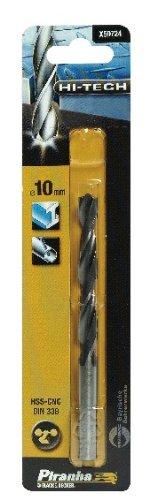 Piranha Hss-cnc Hi-tech Crownpoint Drill Bit, 10mm