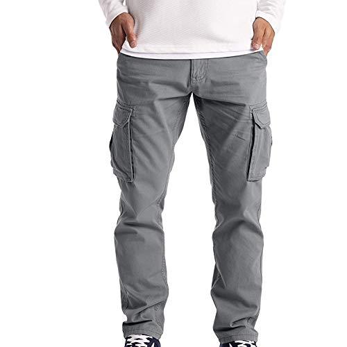 2021 Nouveau Jogging Hommes Pantalon de Sport Jogger Homme Survêtement Mode Hommes Pantalon De Travail Joggings Joggings Occasionnels Pantalon Cargo Poches Pantalon De Sport Randonnée