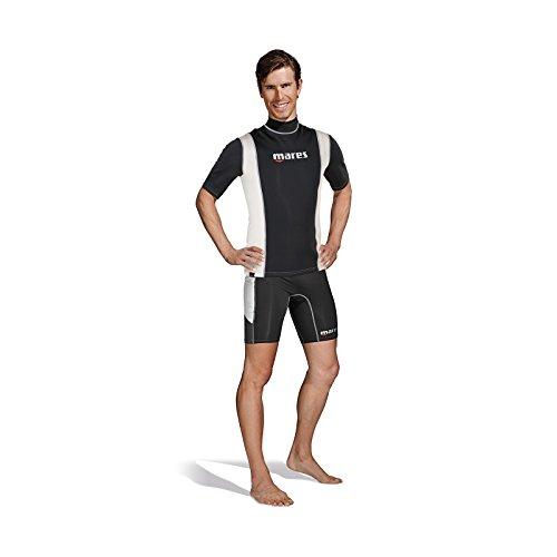 Mares Herren FIRE Skin Man Short Sleeve Tauchanzug, Schwarz, 3XL