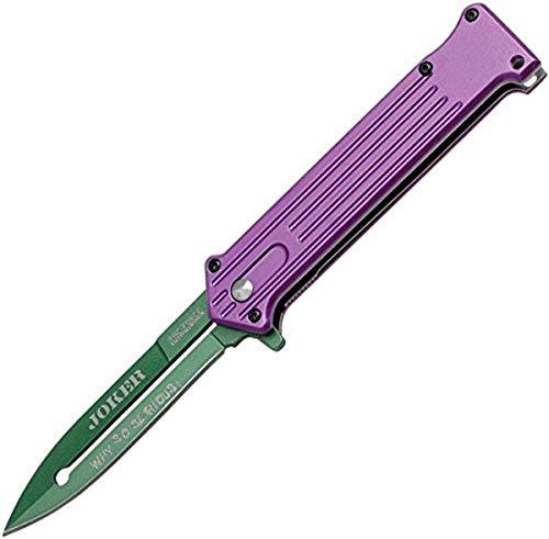 TAC FORCE Erwachsene TF-457PGN Taschenmesser, grünviolett, L