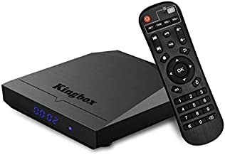 Kingbox Android TV Box, K3 Android 7.1 Box with Amlogic S912 Octa-Core 64 Bits 2GB/16GB Support Dual WiFi 2.4+5GHz/BT 4.0/4K/3D/1000M LAN Android Smart TV Box