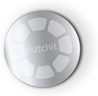 Clutchit 3-Pack Thin Magnetic Metal Replacement Plate 3M Adhesive Device (Silver)