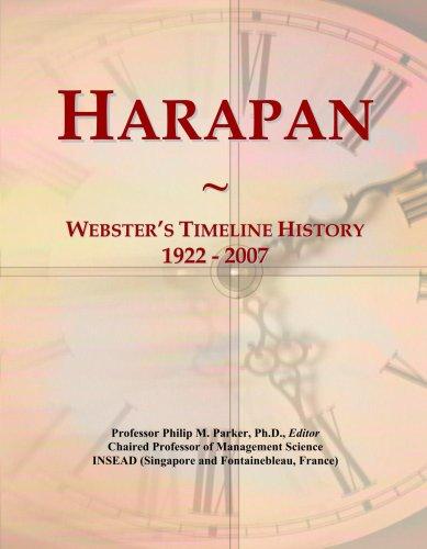 Harapan: Webster's Timeline History, 1922 - 2007