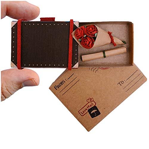immi Mini Überraschung Streichholzschachtel Geschenk (Anlass/Rosen im Koffer)