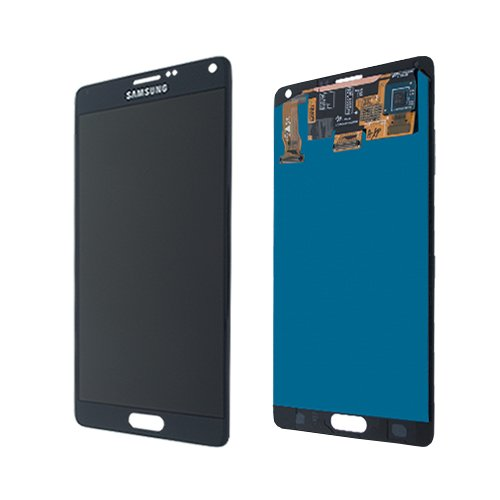 Display para Samsung Galaxy Note 4 (N910F) Touchscreen, LCD + marco en negro GH97-16565B
