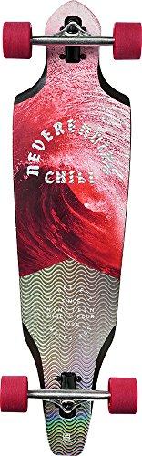 Globe The Cutler Skateboard, Crimson Chill, 36