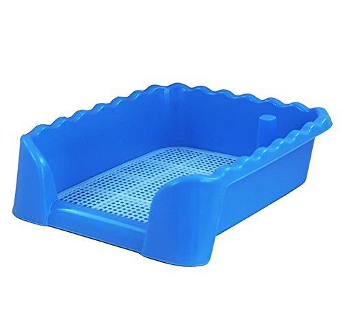 DAN Aseo/Orinal de Entrenamiento, portátil de plástico de WC para Perrito de...