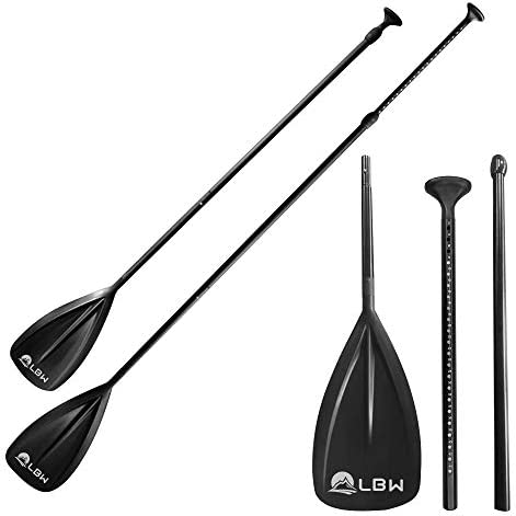 LBW Stand Up Paddle Board Paddle 3 Pieces SUP Paddle Board Accessories Floating Lightweight product image