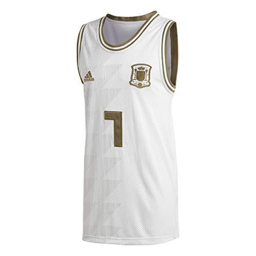 adidas Seasonal Special - Camiseta de Tirantes para Hombre, Todo el año, España Seasonal Special, Hombre, Color Blanco, tamaño Medium