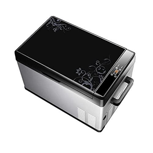 Refrigerador de Portátil con Mini Congelador para Automóvil, (4 Capacidades para Elegir) DC 12 / 24V, AC 110-240V, Refrigerador Compacto para Refrigerador de Automóvil, para Camión, Camioneta