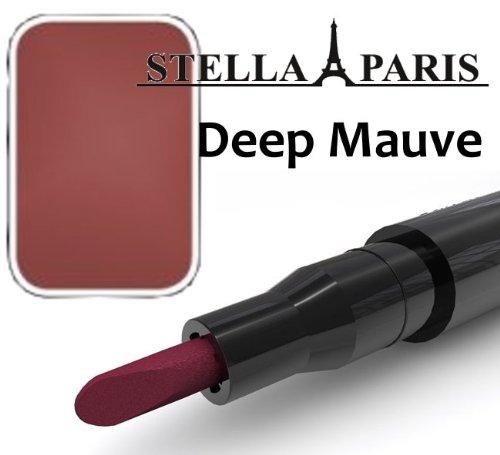 Stella Paris Permanent Lippenstift No. 55 Deep Mauve