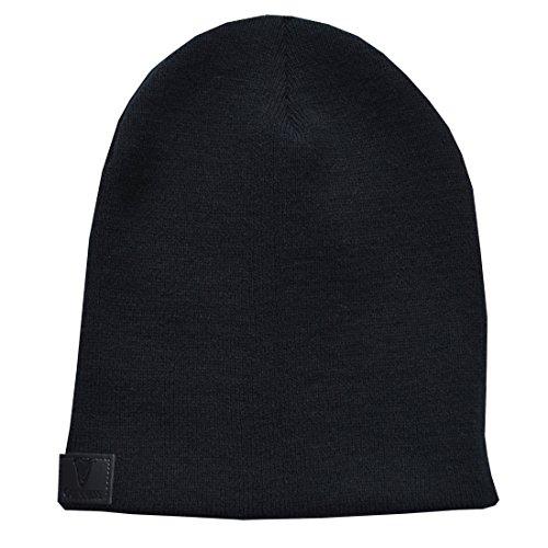 Guinness Schwarze gestrickte Beanie Mütze