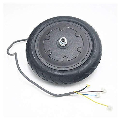 Accesorios para Scooter eléctrico de Llantas sólidas, adecuados para M365 Kit de Motor de CC sin escobillas de tracción Delantera de 8.5 Pulgadas, Equipado con Llantas neumáticas Antideslizantes resi