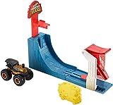 Hot Wheels Monster Trucks Pista Supersalto Big Air Breakout con Veicolo Incluso, Gioco per Bambini di 4 + Anni, GCG00