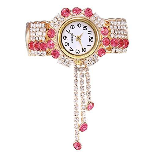 Abstand Armbanduhr Uhren Fghyh Legierungs-Mode-Uhr-kreative Franse-Quarz-Armband-Uhrmodelle Kh080(D)