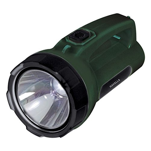 Havells Beemer 50 5-Watt LED Torch (Green)