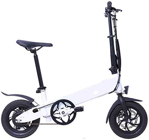 Bicicletta Elettrica, 12 pollici a scomparsa 250w   città bici elettrica assistita elettrica di sport della bicicletta della montagna della bicicletta con 36v13a rimovibile batteria al litio Piccolo U