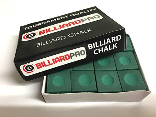 Pioneer Billard Snooker Billard Pioneer Billardkreide, Grün, 12 Stück