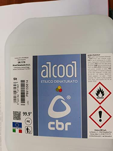 Alcool éthylique dénaturé 99,9° 5 l