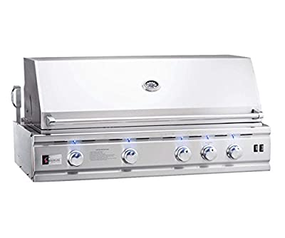 Summerset TRL Deluxe Series Built-in Gas Grill (TRLD44-NG), 44-Inch, Natural Gas