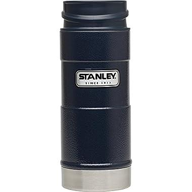 Stanley Classic One Hand Vacuum Mug 12oz Hammertone Navy