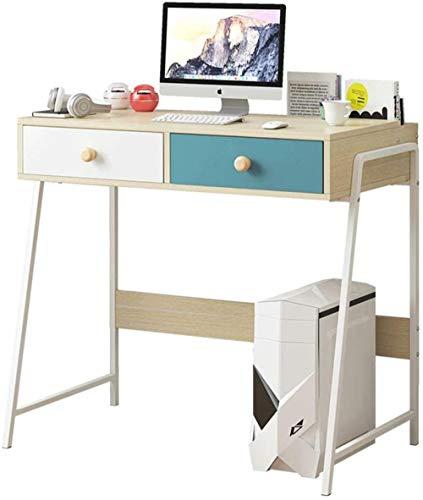 Dormitorio Sala Ordenador Portátil Pc Mesa de Estabilidad Mesa Mesa Escritorio para Oficina Dormitorio Ordenador de Madera Estación de Trabajo B 83x50cm(33x20inch)-A_83x50cm(33x20inch)