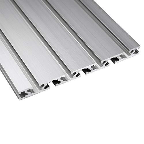ZHANGAIGUO Linear Rail, 1PC 15180 Aluminum Profile Extrusion 100mm To 1000mm Length CNC Parts Anodized Linear Rail for DIY CNC 3D Printer Workbench (Color : 500mm)