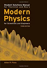 Student Solutions Manual for Thornton's Modern Physics for Scientists and Engineers, 3rd