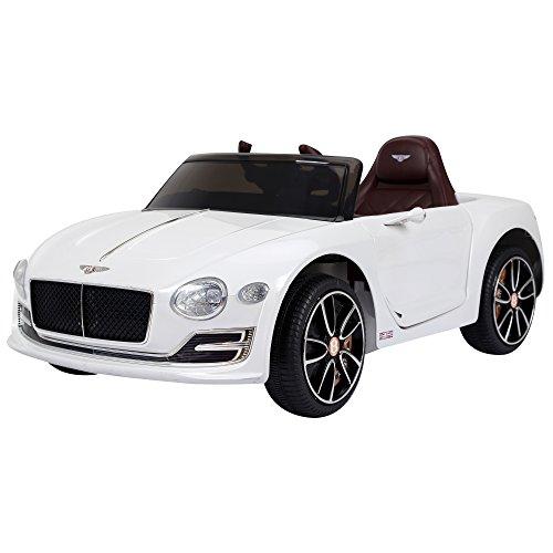 HOMCOM Coche Eléctrico para Niño 3+ años Bentley con Mando a Distancia...