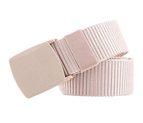 COMVIP 3.8CM Breite 130CM Länge Fashion Damen Gürtel Jeans Gürtel Taillegürtel Hüftegürtel Aus Segeltuch Khaki