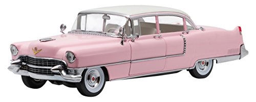 """Greenlight Collectibles Elvis Presley Fleetwood 1955 Series 60 """"Pink Cadillac Vehicle (1:18 Scale)"""