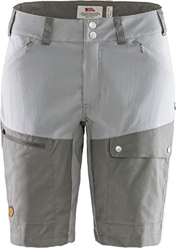 FJALLRAVEN Damen Abisko Midsummer Shorts W Hose, Haigrau-Supergrau, 36