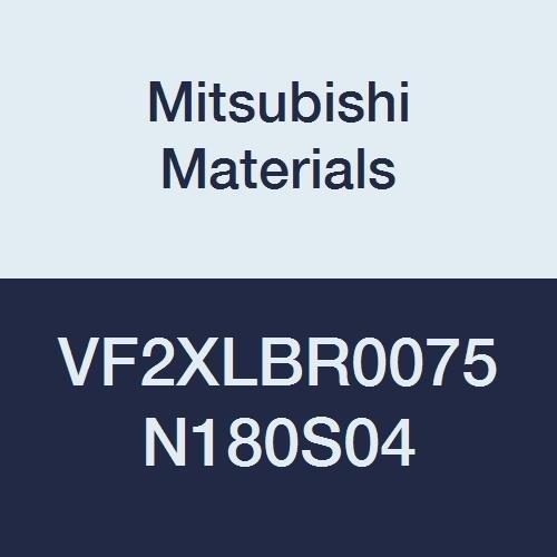 Mitsubishi Max 73% OFF Materials Super special price VF2XLBR0075N180S04 VF2XLB Im Series Carbide