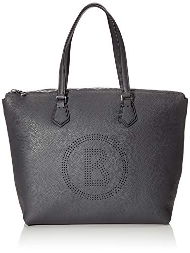 Bogner Damen Shopper Sulden Nele aus Leder Handtasche mit Reißverschluss
