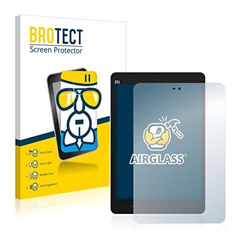 BROTECT Panzerglas Schutzfolie kompatibel mit Xiaomi Mi Pad 2 - AirGlass, extrem Kratzfest, Anti-Fingerprint, Ultra-transparent