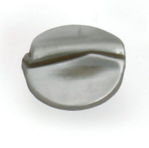 Laurey 37887 1-3/8-Inch Garbow Knob, Steel