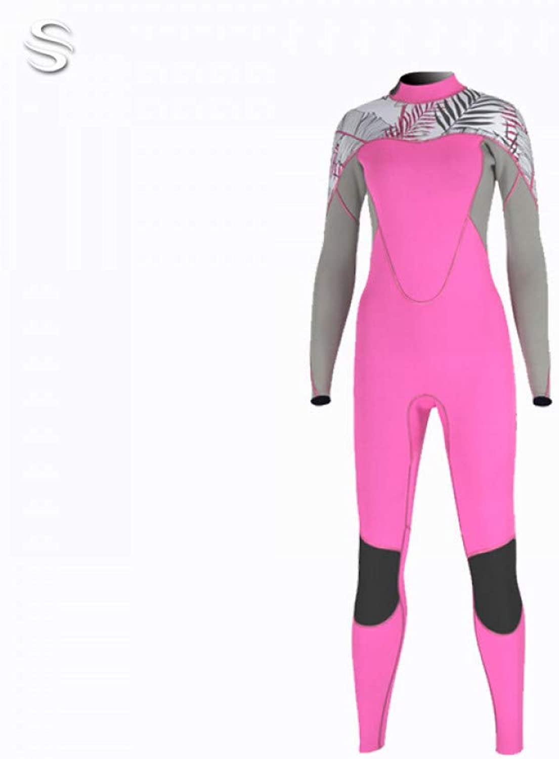 Siamese diving suit female 2mm long sleeve sunscreen wetsuit female warm wet wetsuitfor Surfing, Scuba Diving,Surf,Kayak Body board