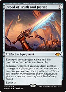Magic: The Gathering - Sword of Truth and Justice - Modern Horizons