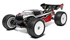 The Tacon is a 1/14 scale truggy . It was designed from the ground up with pure performance in mind. Performance features derived from 1/8 scale trucks and buggies have been shrunken down in size and engineered to deliver the utmost performance in a ...