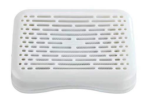 WENKO Neutralizador de olores universal, para la nevera, el cubo de basura, Polipropileno, 11 x 2 x 8 cm, Blanco