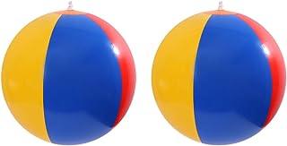 NUOBESTY X6 Ballons de Plage Arc-en-Jeux en Plein air Piscine Gonflable Jouets de Piscine (Couleur aléatoire)