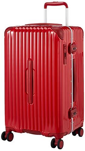 [カーゴ] スーツケース グッドサイズ スリムフレーム 多機能モデル CAT68SSR 保証付 60L 65 cm 5.1kg ブライトレッド
