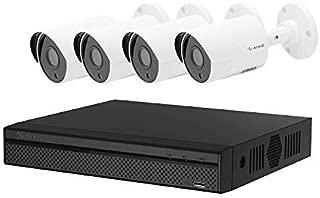 2019 Aivio/Dahua OEM 1080P 4CH Home Security Camera System 1TB Hard Drive, Surveillance DVR kit w/ 4X 2MP 1920x1080 HDCVI Outdoor IP67 Bullet Cameras 1T HDD (XVR5104HS-S2 & HAC-HFW1220S)