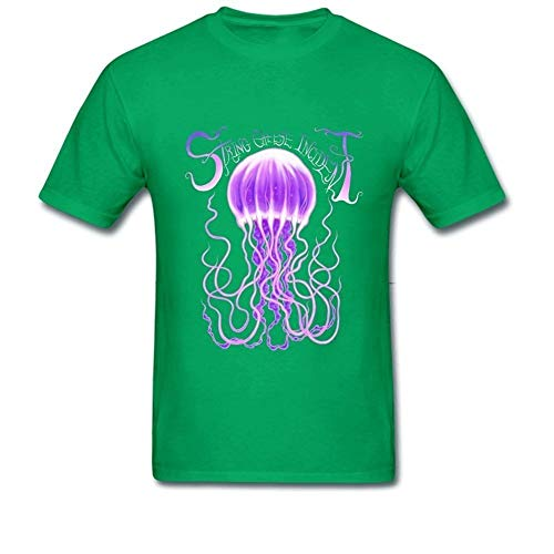 FOR Men's Navy Blue The String Cheese Incident Purple Logo T Shirts Camicie e T-Shirt(Small)