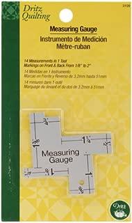 Dritz Quilting 14 In 1 Measuring Gauge-1/8