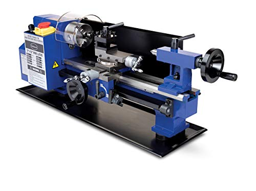 Eastwood Benchtop Mini Metal Variable Speed Lathe 7' x 12' Drilling Machine
