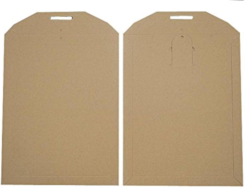 Blanke Briefhüllen - 100 Vollpapptaschen im Format 292 x 374 mm in Braun B00FPO8GQQ    | Förderung
