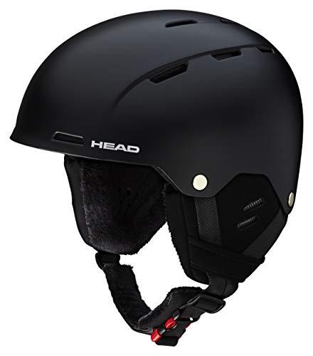HEAD Trex, Casco da Sci e Snowboard Uomo, Nero, XS-S